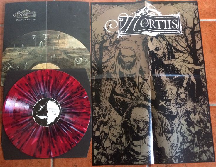 "The Great Corrupter LP ""Norway Gone Bad"" splatter vinyl. 99 copies made."