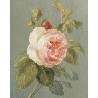 Фамильные Розовые розы с Danhui Най Урожай викторианской цветок искусства принтеров 8x10
