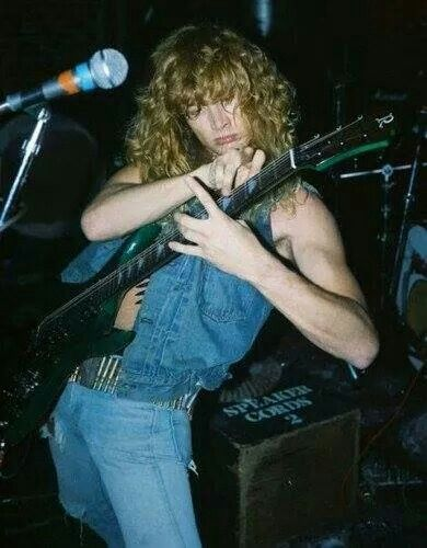 Young Dave Mustaine 25+ best ideas about D...