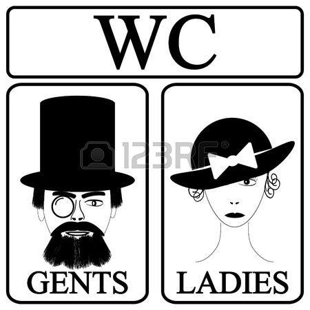 Bathroom Sign Male Vector 17 best bathroom signage images on pinterest | signage, bathroom