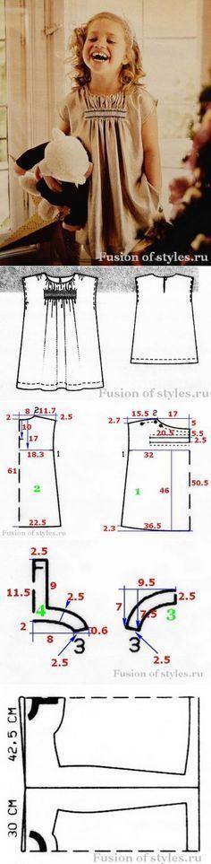 Простое платье для девочки...<3 Deniz <3