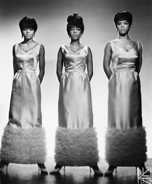 Diana Ross, Mary Wilson & Florence Ballard. The Supremes.