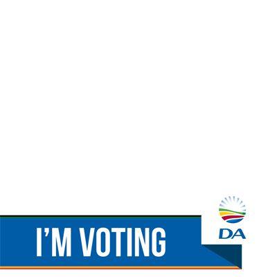I'm voting DA - Support Campaign on Twitter | Twibbon