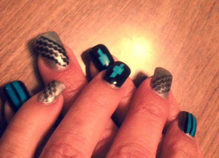 Chevy nail art