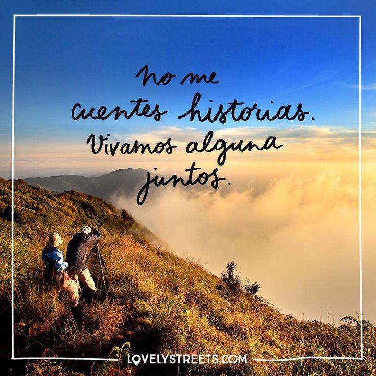 No me cuentes historias. Vivamos alguna juntos. Encuentra más inspiración para tus escapadas en www.escapadarural.com