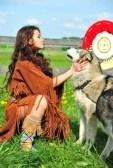 Silhouetten Van De Amerikaanse Indianen Te Paard Royalty Vrije Cliparts, Vectoren, En Stock Illustratie. Image 11145352.