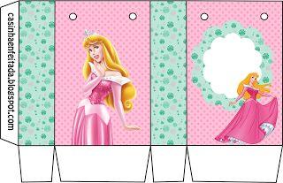 Casinha de Criança: Kit Festa Princesa Aurora Para Imprimir (Grátis)