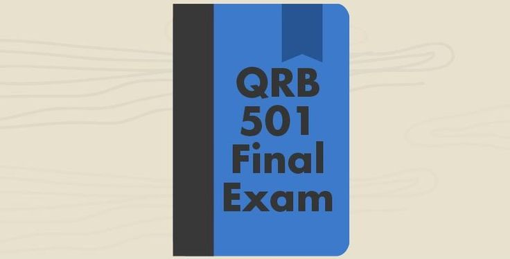 QRB 501 Final Exam (Questions and Answers)=========================================1. Find the range for the set of data: 23, 29, 17, 21, 21.  The range is _____ 2. Write the percent as a decimal Round to the nearest thousandth if the division does not terminate. 9/24 %9/24% = _____3.  A number is d