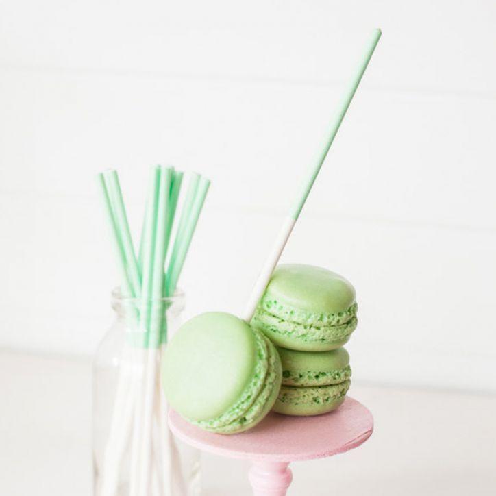 Lollipop Sticks: mint
