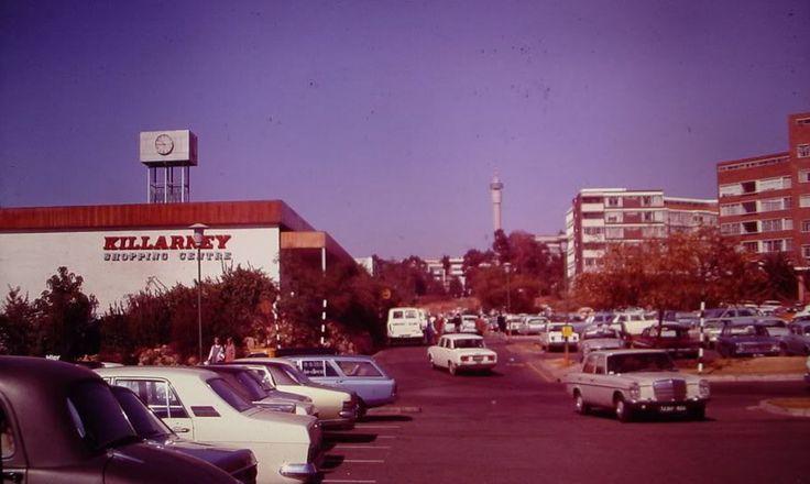 Killarney Mall Shopping Centre, Killarney late 1970's