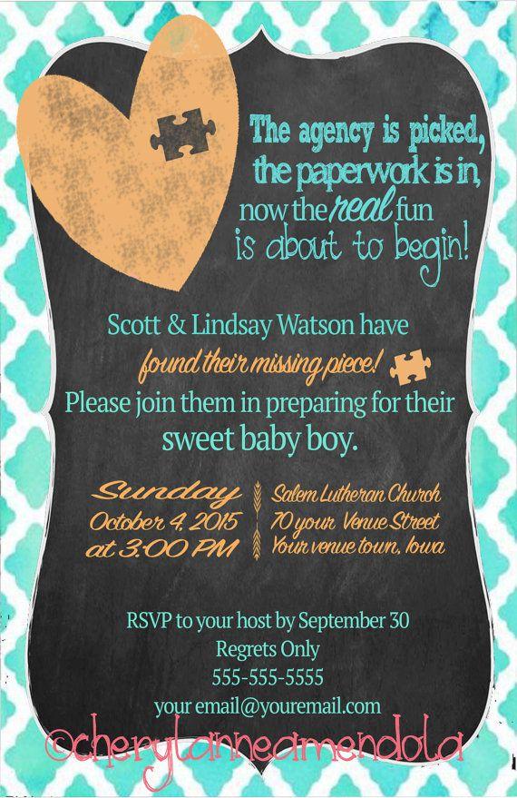 16 best Foster To Adoption images on Pinterest   Adoption shower ...