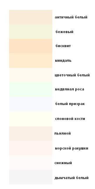 Современные названия цветов и оттенков. - Стиль. Имидж. Мода. Шоппинг Сопровождение