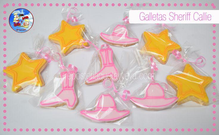 Galletas Sheriff Callie - Sheriff Callie cookies