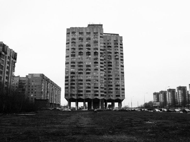 Social housing, formerly Leningrad( now St. Petersburg), Russia. Photographer unknown.