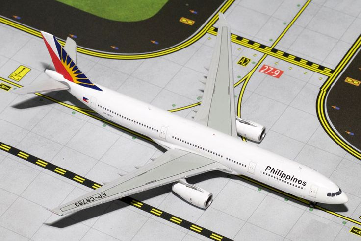 1/400 GeminiJets Philippines Airlines Airbus A330-300 Diecast Model