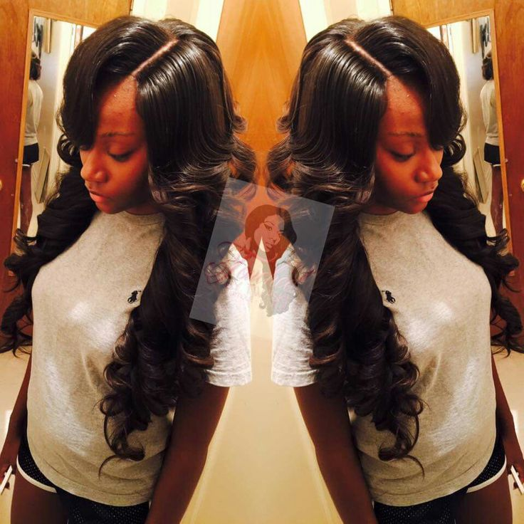 Full sew in with lace closure   Dopee Styles   Curly