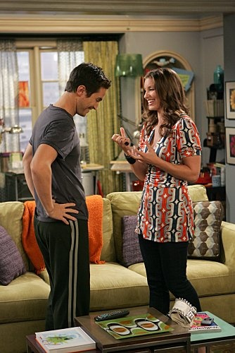 Still of Oliver Hudson and Bianca Kajlich in Rules of Engagement