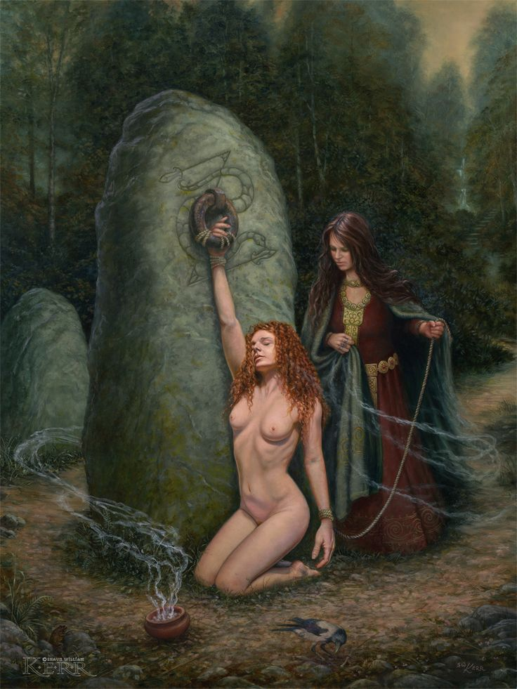 scottish wicca women nude