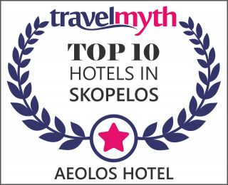 Aeolos Hotel would like to thank all of you! We are proud and would like to assure all our guests that we'll do all in our power to keep up with this standards.  aeolosskopelos.com