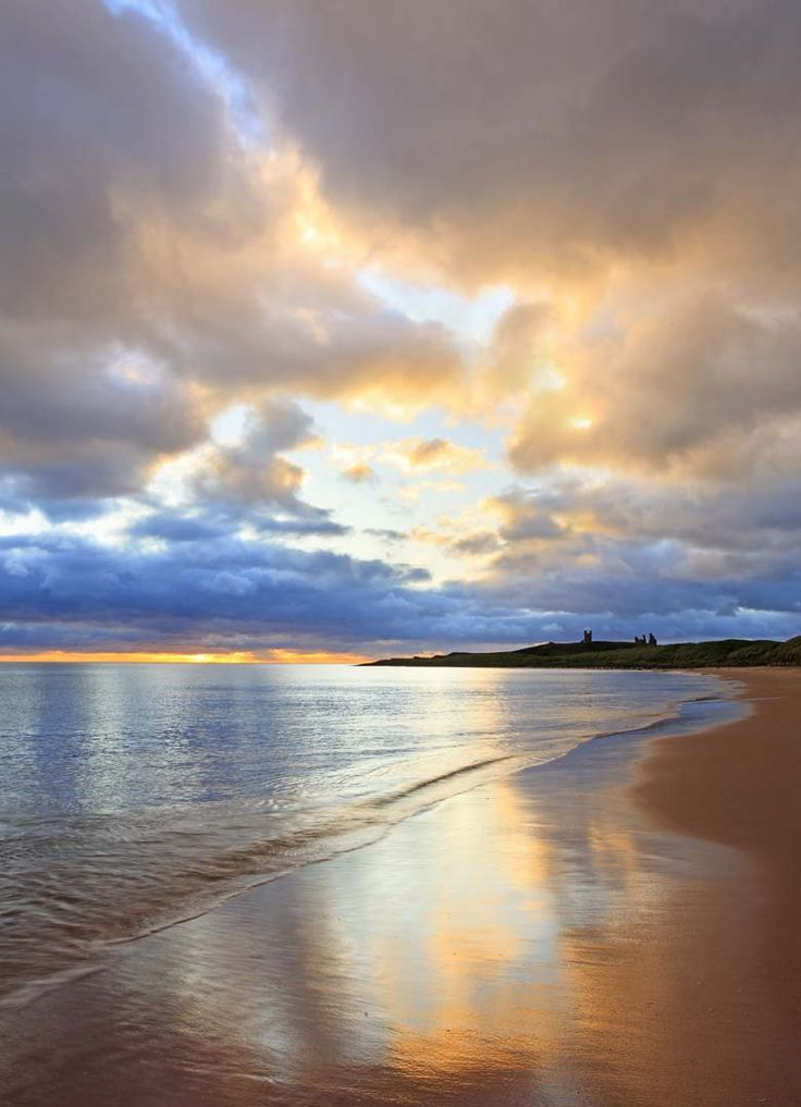 Dunstanburgh Castle, Northumberland Coast, UK