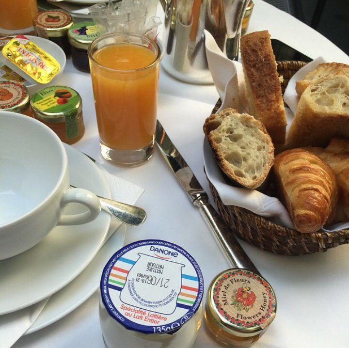 Завтрак в отеле/😋😍