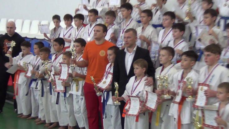 Лесосибирск карате награждение победителей бойцов по соревнованиям по ка...