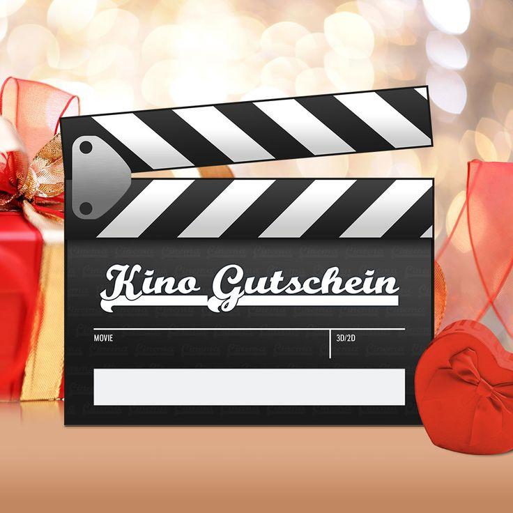 Kino-Gutschein PDF, 15 x 14 cm | Kino gutschein vorlage