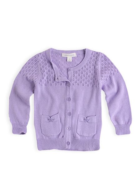 Pumpkin Patch - knitwear - carly rose cardigan - S3EG30001 - lavender - 0-3mths to 12