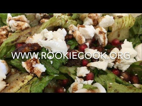 Mexican Salad with Goat Cheese and Pecans - Rookie Cook