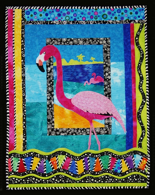 38 Best Images About Flamingos Quilts On Pinterest Quilt