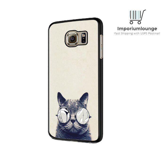 Cat Glasses iPhone 4 5 6 6 Plus Galaxy S3 S4 S5 S6 HTC M7 M8 Sony Xperia Z3