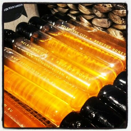 Mini honey tubes 'Stingers'