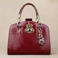 Designer Red Women Handbag With Handle