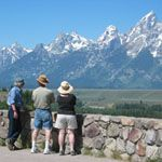 I have fond memories of Grand Teton NP.  Taking the boat ride across Jenny Lake.  Hiking through Cascade Canyon and sleeping under the stars.  Camping at Gros Ventre campground.  Spending the evening in Jackson.  I so want to go back.