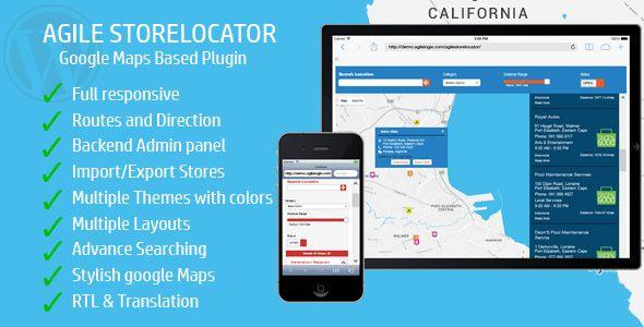 Store Locator Google Maps For Wordpress V3 1 3 Google Maps