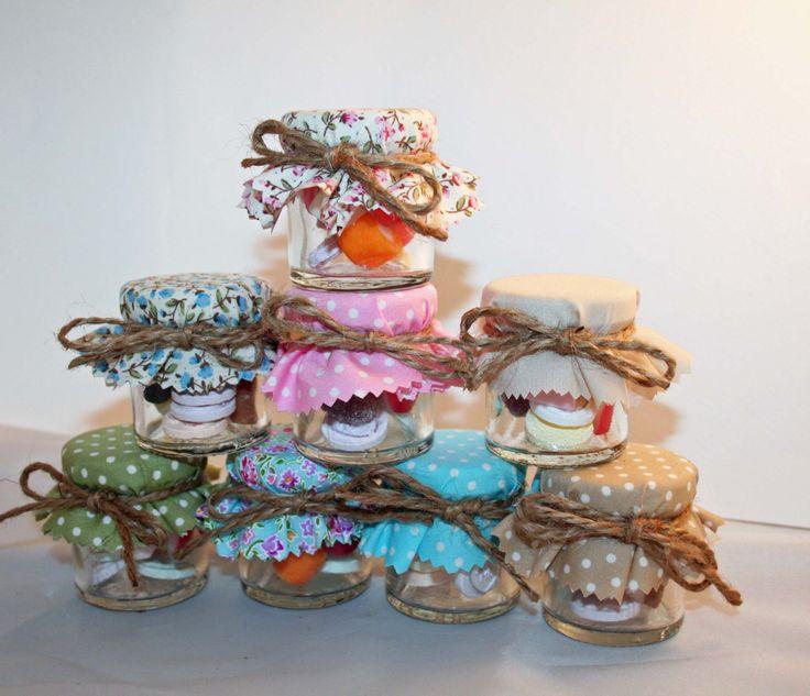 Sweet Favours, Sweet Jar Favour, Wedding Favour,Candy Jar, Bridal Shower, Baby Shower by Melysweddings on Etsy https://www.etsy.com/listing/161108097/sweet-favours-sweet-jar-favour-wedding