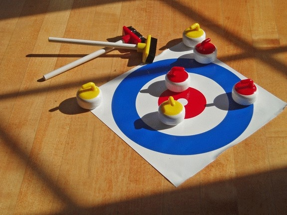 Desktop Curling Game - Perfect Gift for my favorite curler when the ice melts
