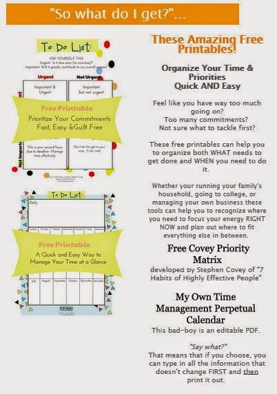 Perpetual Calendar Chart : Great freebie priority chart perpetual calendar click