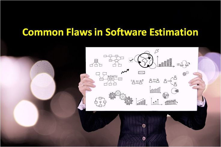 5 common flaws in software estimation you can easily avoid. #softwareestimation #projectmanagement