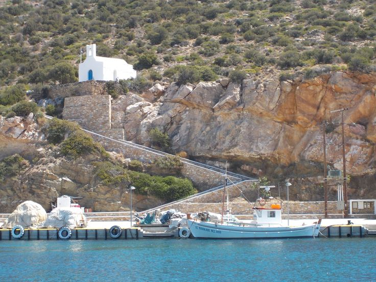 Sifnos island,Platis Yialos bay (marina)