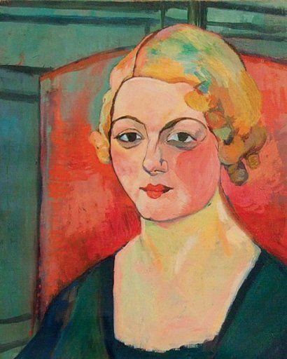 "Suzanne Valadon (French, 1865 – 1938) ""Self-portrait"""