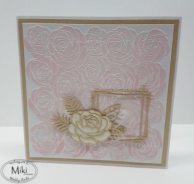 l'angolo di miki: una card floreale
