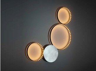 Lampada da parete a LED a luce diretta e indiretta SIRIUS - Le Deun Luminaires