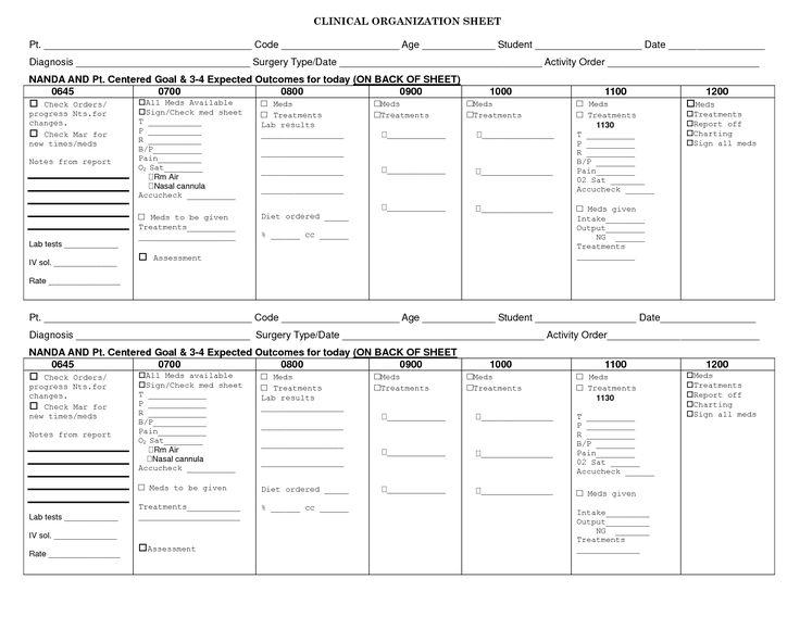 423 best Flashcards med surg info images on Pinterest Nursing - order sheet template