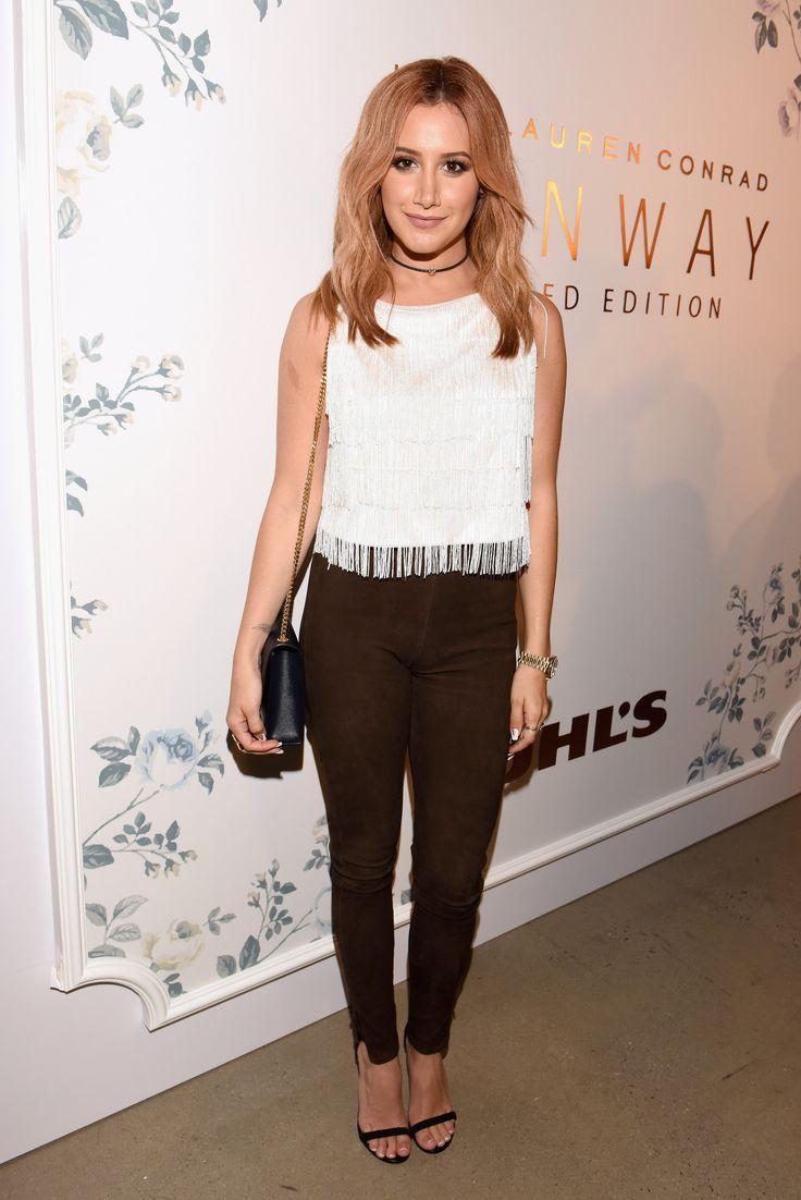 Ashley Tisdale à la Fashion Week de New York