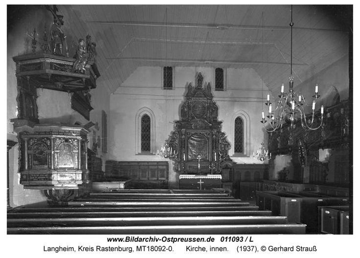 Langheim, Kirche, innen