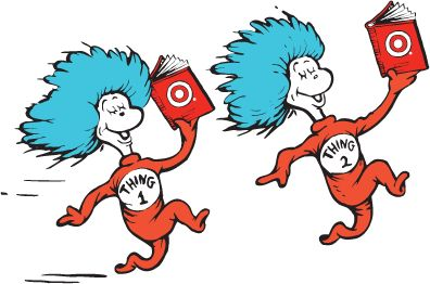 66 best dr suess images on pinterest dr suess classroom ideas and rh pinterest com thing one and thing two clip art printable