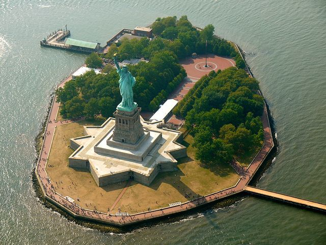 Ellis Island, Statue of Liberty.. although a few too many times when I lived in NYC