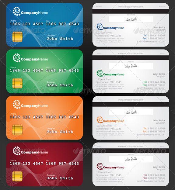 90 best Print Templates images on Pinterest Print templates, Font - printable credit card template