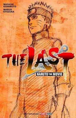 """Copertina del libro """"The Last: Naruto the Movie"""""""